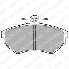 Brake Pads Front 256mm Solid